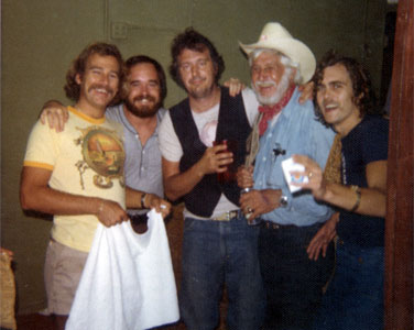 "Jimmy Buffett, Roger Bartlett, Jerry Jeff Walker, Greg ""Fingers"" Taylor"